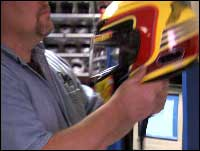 Snell Helmet Testing Video